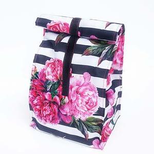 lunchbag śniadaniówka kwiaty