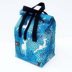 lunchbag śniadaniówka jelenie