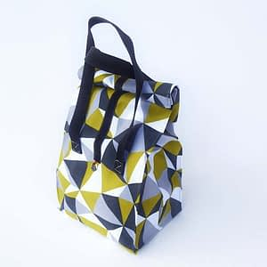 lunchbag figury szare